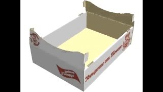 Кондитерский лоток сборка коробки(, 2016-02-29T16:36:50.000Z)