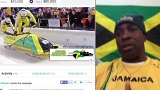 Jamaican team lacks cash for bobsled run