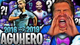 Spiller FUT CHAMPIONS med AGUHERO men i 2019... 👀🔮 **POTM 93 SERGIO AGUERO SBC**