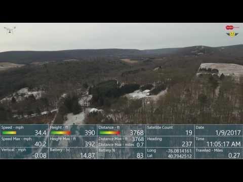 Dashware with HealthyDrones Data Gauge Demo Reel - YouTube