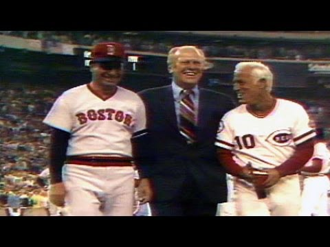 1976 AL@NL: President Ford throws out first pitch