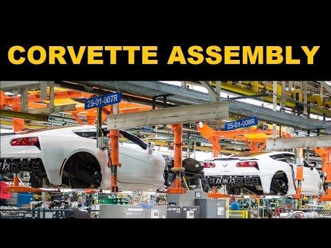 Corvette Factory Tour >> Corvette Factory Tour Corvette C7 Build Youtube
