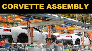 Corvette Factory Tour - Corvette C7 Build