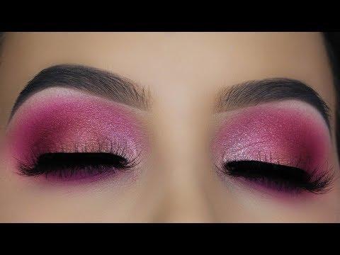 Blown Out Pink Eye Makeup Tutorial