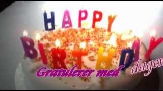 عيد ميلاد سعيد بكل اللغات Happy Birthday Joyeux anniversaire Buon Compleanno