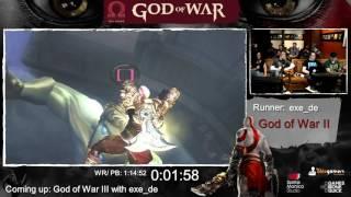 God of War Done Quick! God of War Speedrun Marathon! (part 4) - GoW 2