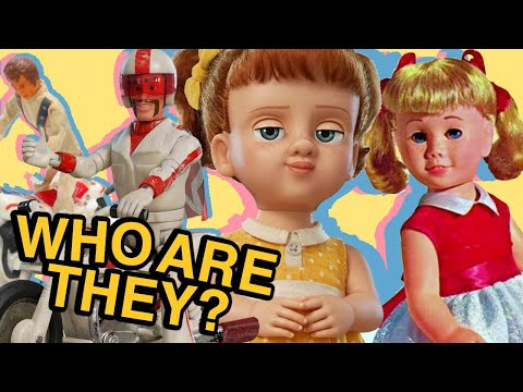New TOY STORY 4 Characters Are Based On Real Vintage Toys | GABBY GABBY, DUKE CABOOM & MORE