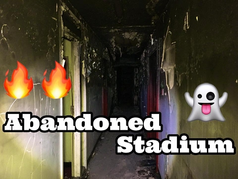 Exploring Abandoned Football Stadium (FIRE)