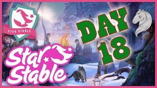 Star Stable Online Holiday Calendar 2019 Day 18 FREE SSO CODE!