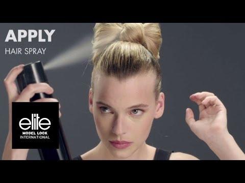 How To Make A Bow Bun | Hair Tutorial