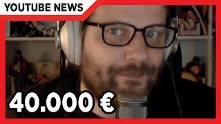 Gronkh sammelt 40.000 € Spenden!