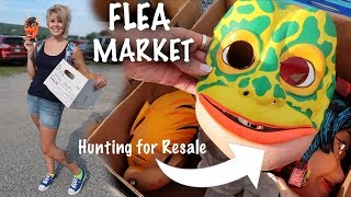 We LOADED up on Resale Treasures at the Flea Market! | Buying & Reselling