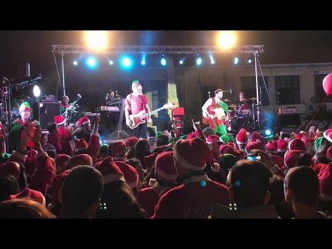 Santa Run Chania 2016 | To πάρτυ με τους Onirama