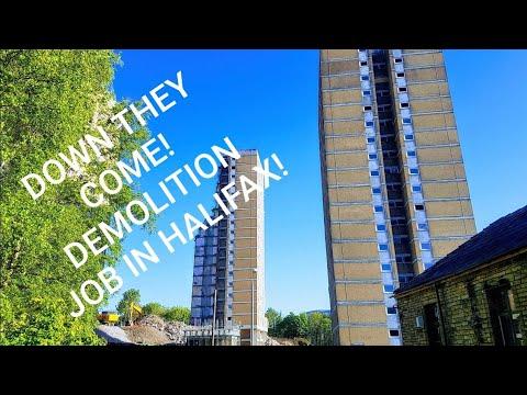 demolished-part-of-flats-at-halifax-uk-near-police-station