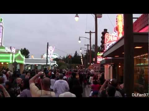 Cars Land Opening Day- Lights Up! - Life Could Be a Dream (Sh-Boom)