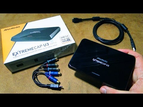 UNBOX: ExtremeCap U3 Placa de Captura HDMI FULLHD USB 3.0 AverMedia