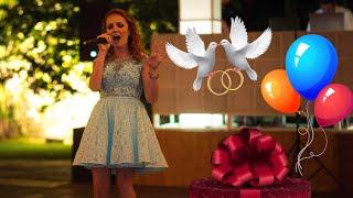 Трогательная песня на свадьбу от подруги невесты. Нереальный голос!
