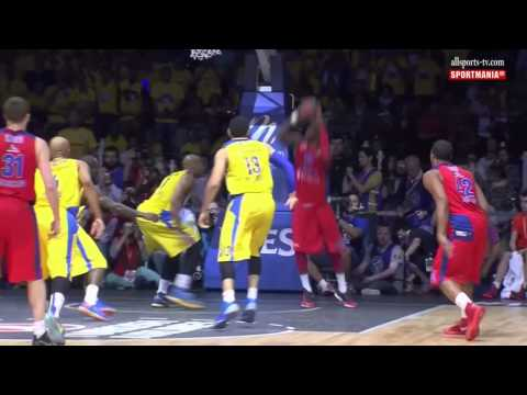 2013 EUROLEAGUE BLOCK SHOT COMBO