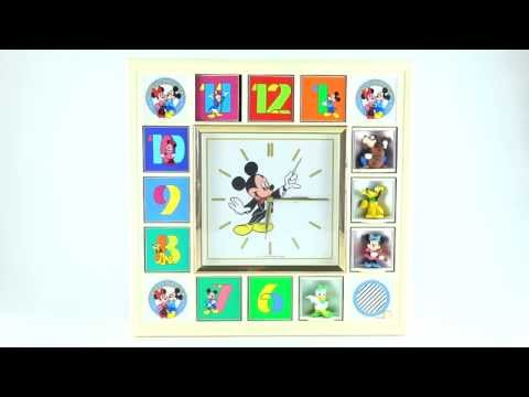 Disney Mickey Mouse Seiko Animated Musical Character Clock