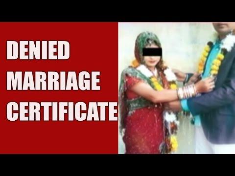 Marriage Of Hindu Boy & Muslim Girl Denied Certificate