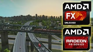 Cities: Skylines FX-8320 / Radeon R9 290X