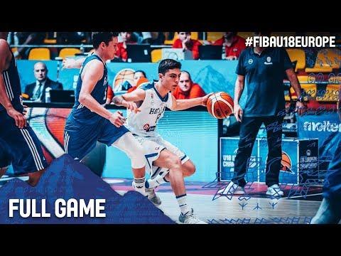Greece v Finland - Full Game - FIBA U18 European Championship 2017
