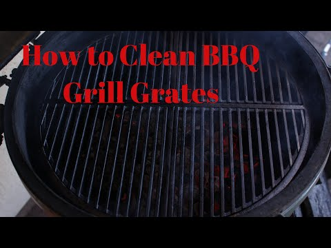 How to Clean BBQ Grill Grates