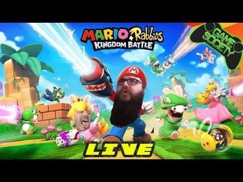 Mario + Rabbids Kingdom Battle LIVE (Copy Giveaway & Houston Relief Effort)