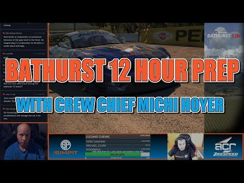 iRacing Bathurst 12 Hour Practice with Crew Chief Michi Hoyer and driver  Shaun Cole