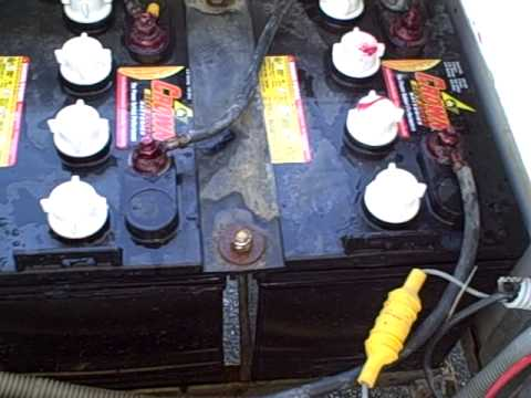 hqdefault 2006 club car 48 volt electric golf cart ds w 2 month old club car 48 volt battery wiring diagram at soozxer.org