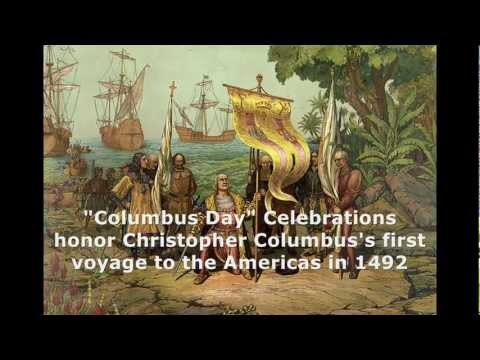 "Columbus Day for honoring ""Christopher Columbus"" who discovered America"