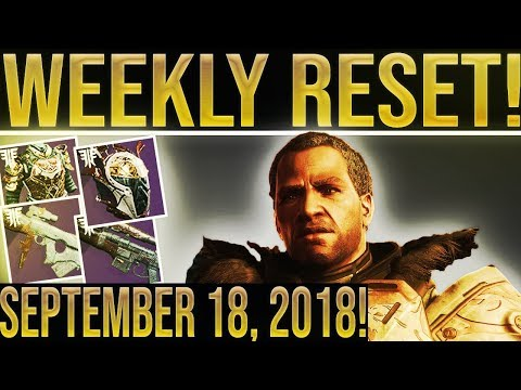 Destiny 2 WEEKLY RESET! Iron Banner Inventory, New Petra Location, All Powerful Gear Sources 9-18 thumbnail