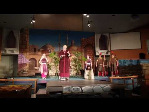 PASSION PLAY 2017~ Scene 26 - King Herod Antipas