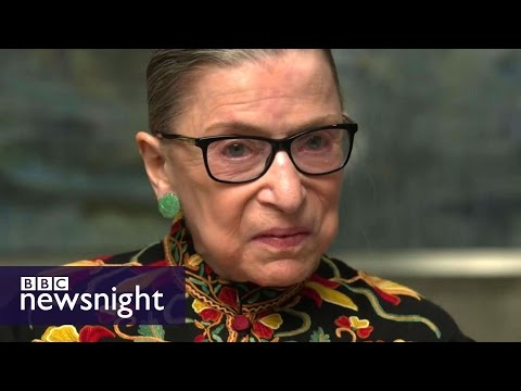 Justice Ruth Bader Ginsburg rare interview: 'It's not the be