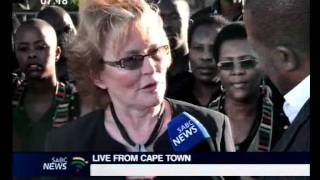 SONA-The leader of the democratic alliance, premier Helen Zille