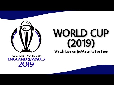 How To Watch Live World Cup 2019 Free On Jio Tv | Watch World Cup Free On Mobile