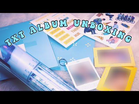 TXT 투모로우바이투게더 (TOMORROW X TOGETHER) The Dream Chapter: STAR DEBUT ALBUM UNBOXING Mp3