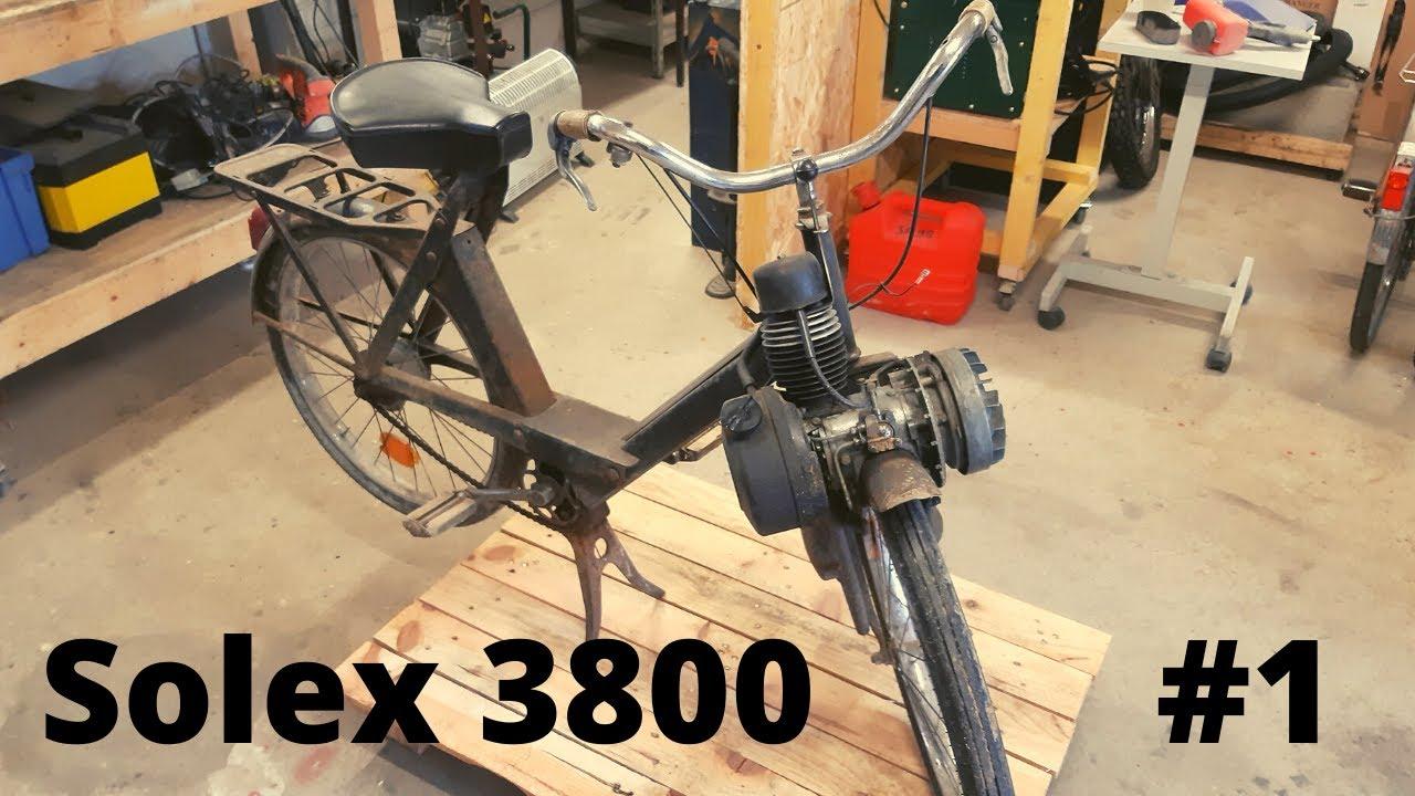 Download Restauration SOLEX 3800 - Démontage et début du sablage !