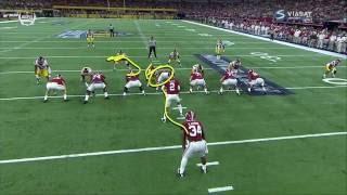 Damien Harris vs USC (2016)