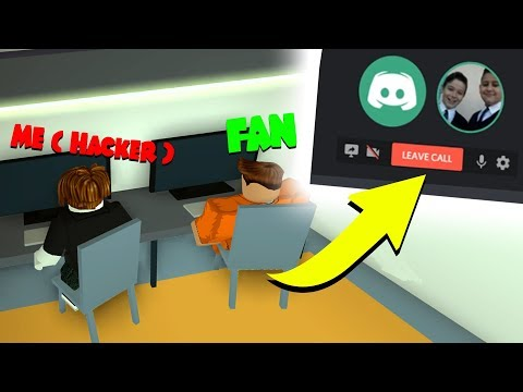 UNDERCOVER FAKE HACKING WITH ROBLOX FANS! *VOICE CHAT*