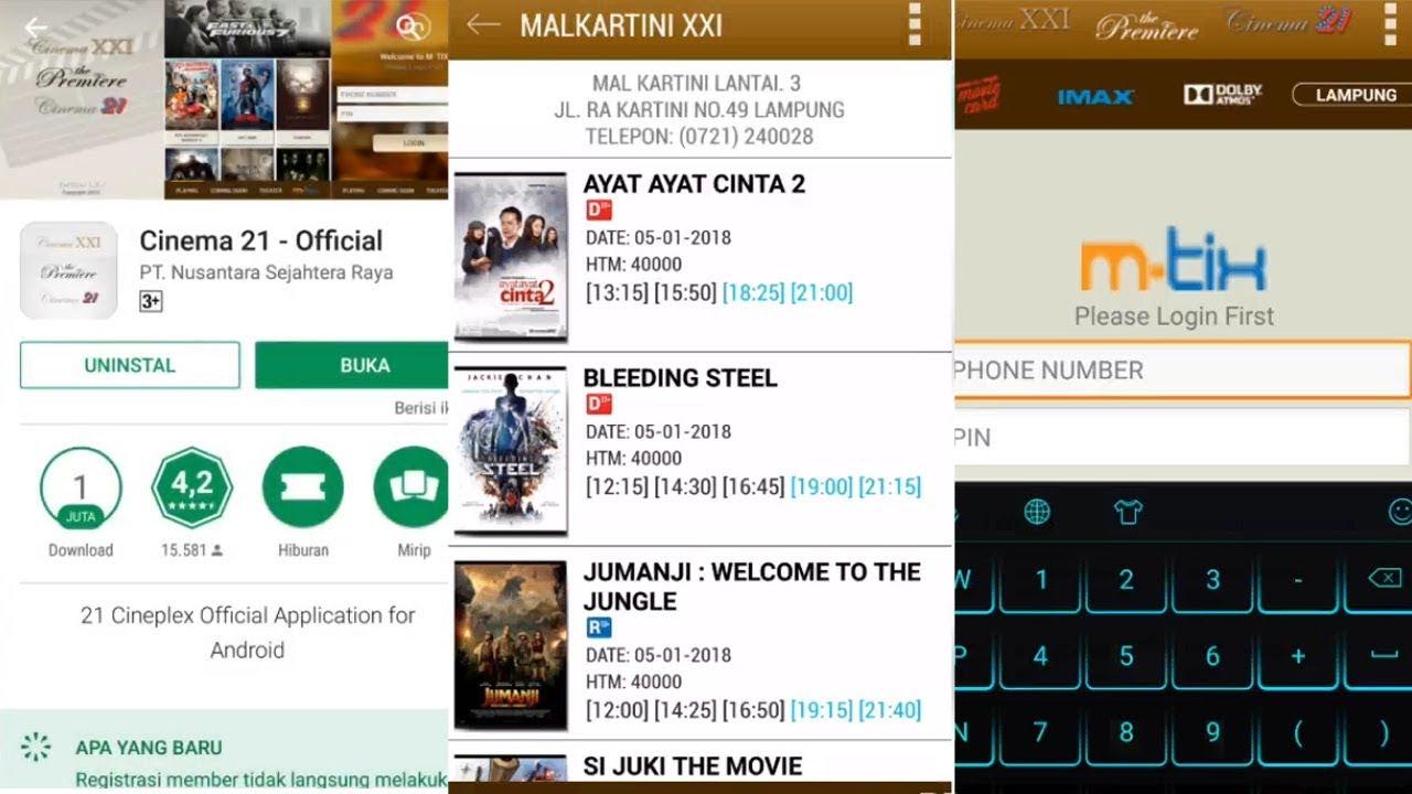 Begini Cara Pemesanan Tiket Bioskop Di Lampung Secara Online