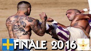 Calcio Storico 2016 ● Finale ● Azzurri - Bianchi