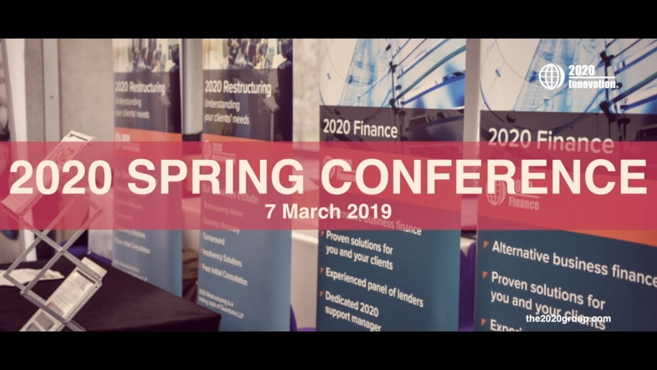 Spring Conference 2020.2020 Spring Conference 2019