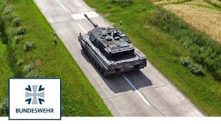 Der neue Kampfpanzer Leopard 2 A7V im Test | Bundeswehr