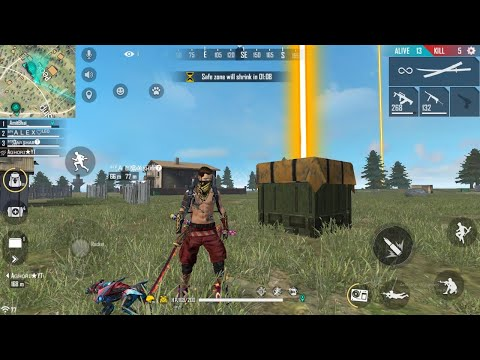 AirDrop Hunting    Garena Free Fire Live - Desi Gamers