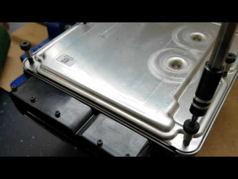 How to easily, quickly and safely open an Engine ECU /ECM Guide - Bosch EDC16