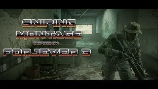 MWR - EPIC SNIPING MONTAGE  Inspired by FORJEVER 3 (Reupload)