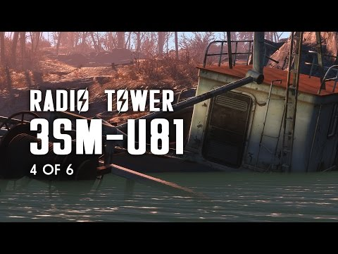 Radio Tower 3SM-U81 - Nautical Radio Signal, Breakheart Banks, & the Greenbriar Bunker