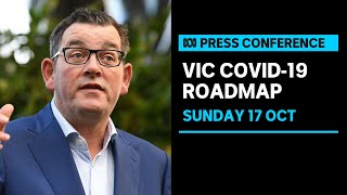 LIVE: Victorian health authorities reveal roadmap out of lockdown   ABC News