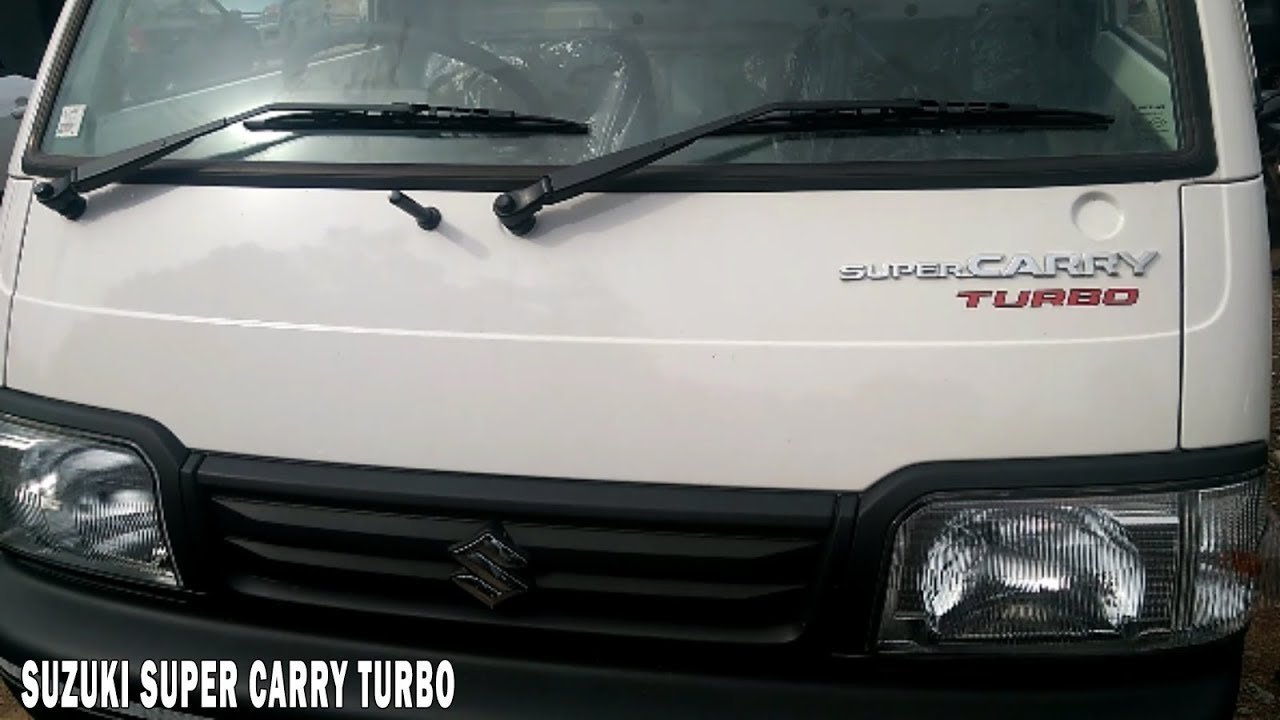 Suzuki Super Carry Turbo Mini Truck With Payload Capacity 740kg